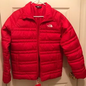Brand new North Face red winter coat